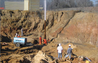 On wells where multistage fracturing is used, blowouts have taken place during the fracturing operation, oftentimes due to failed casing.