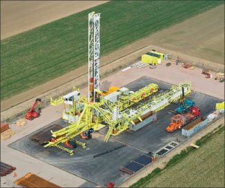 LOC 400 huisman rig