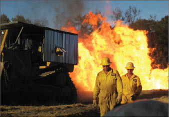 blowout human error training fire