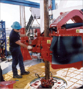 On H&amp;Ps FlexRigs, drilling crews have been able to turn the heavy and dangerous work over to equipment like iron roughnecks. Drillers also get to work from within climate-controlled cabins  away from high-risk areas like the rig floor.