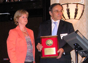 IADC Service Award recipient Pierre Gie of TOTAL