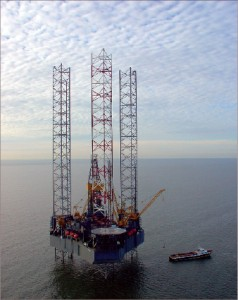 Contractors continue to watch for good news from exploration efforts for deep gas in the Gulf of Mexico that could spur additional drilling demand in that market. Rowan's Bob Palmer jackup is working in the Gulf for El Paso Corp.