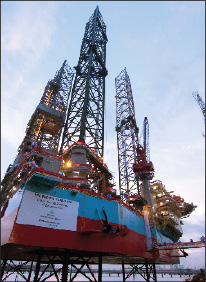 EDC's two new jackups, the Sneferu and the Setty, are aimed specifically at deep-gas drilling.