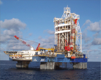 Chevron used Transocean's dynamically positioned Cajun Express for an initial GOM well test in August 2004, then later to drill and complete subsequent GOM wells.