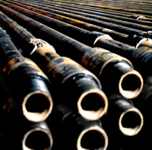 Above is an example of drill pipe. Shortages of drill pipe in the United States could be seen as early as March 2010. Petitioners push for a resoultion to drill pipe duties from OCTG to avoid halting oil exploration in the US.