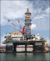 Construction lead time for the ENSCO 8502 was improved by 1.1 million manhours compared with the first rig in the series, according to Keppel.