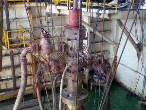 Drillship PMCD Rig-up