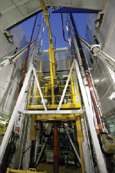 The custom-built Nabors CDR2-AC rig can drill both conventionally and with coiled tubing. However, it was designed specifically to optimize coiled-tubing drilling MPD operations on the North Slope's Kuparuk Field.