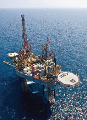 The ENSCO 98 is under contract to Pemex offshore Mexico until  April 2012 at a dayrate in the low $110s.