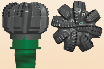 Smith designed an eight-blade 12 ¼-in. bit fitted with backup  cutters and optimized blade and nozzle geometry for an abrasive  formation on a rotary steerable BHA for a challenging West Africa well.