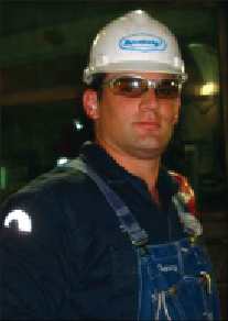 With a positive attitude, Mr Rehg works in the Marcellus Shale play.