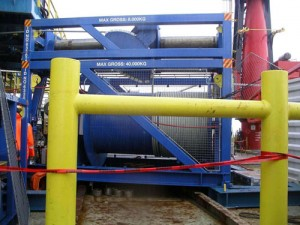 WEB EXCLUSIVE: 25 ton winch for umbilical to lower SPM