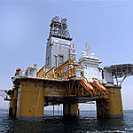 The Deepsea Stavanger. Photo courtesy of Odfjell Drilling.