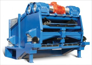 The Multi-Sizer, a triple-deck shale shaker, can handle much higher flow volumes in a smaller area and can capture more solids and handle more mud in a smaller footprint. A video demonstrating this shale shaker is available below.