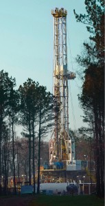 Nabors PACE Rig MO6 is working in East Texas for Devon Energy. The company has twice as many rigs working as this time last year.