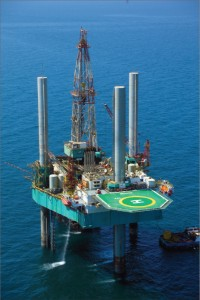 National Drilling Co (NDC) of Abu Dhabi recently awarded Lamprell a $317 million contract for the construction of two jackups. The units will be LeTourneau Super 116E-class units and will be able to drill in up to 200 ft of water, with a rated drilling depth of 30,000 ft. Work on the first rig commenced in August 2010; delivery is scheduled for Q2 2012. On the land side, NDC also awarded a contract in 2009 for the manufacture of seven new land rigs. At left is NDC's Brakah jackup.