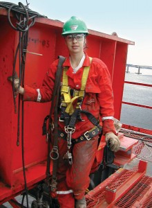 "Eduarda Pina, previously asset rig manager for the Deepwater Millennium drillship, recently moved into her new position of workforce planning manager in Brazil for Transocean. ""Having reached the rig manager level, it's become time for me to understand the other areas and have a global perspective of the business. It's nice for the company to allow us to do that,"" she said."