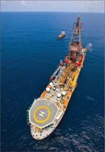 The Pride Angola drillship is working offshore Angola for Total, on contract through mid-2013.