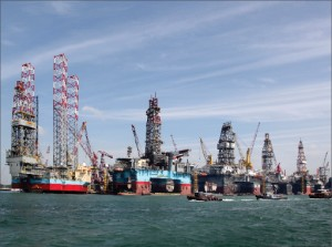Keppel FELS is extending its busy pier at the Singapore yard by 300 meters to accommodate more vessels and projects.