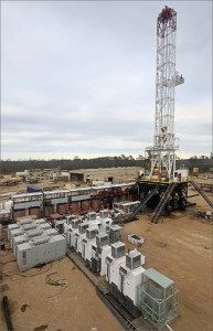 IDE's self-erecting drilling rigs are being used onshore Brazil as the country tries to step up exploration and production of natural gas.