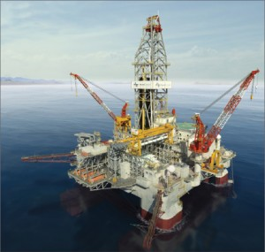 The dynamically positioned semisubmersible Atwood Condor, expected to be completed in 2012, will be capable of drilling in 10,000-ft water depths.