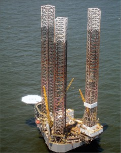 The Hercules 350 cantilever jackup is contracted to Chevron in the Gulf of Mexico.