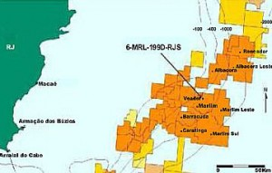 Well 6-MRL-199-RJS in the Brava area is expected to have a daily output of 6,000 bbl/day of oil.