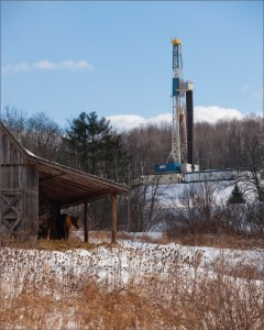 Nabors Rig 981, an SCR unit, is drilling a well for Shell in the Marcellus Shale. Ronnie Witherspoon, SVP and general manager for Nabors Drilling Northern Division, says the company is continuing efforts to enhance rigs, equipment and software for shale drilling. In plays such as the Marcellus, wells are often drilled in a manufacturing mode. Minimizing the number of days on a well and reducing costs are key considerations for operators, he said.