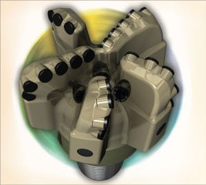 Figure 1:  The Smith Bits Spear PDC bit has an all-steel body for shale horizontal well drilling.