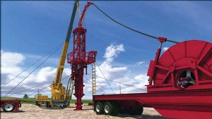 Halliburton's PowerReach combines jointed pipe and coiled tubing to fracture-stimulate shales in long extended-reach laterals. The technology could be useful in Europe since CT and hydraulic workover units are available in the region.