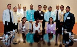 Petroleum engineering students from the University of Trinidad and Tobago attended the 2011 IADC Environmental Conference & Exhibition in early May. IADC extended an invitation to 45 students to absorb the real-world input on environmental conditions and energy development in the Gulf of Mexico.