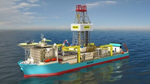 The new simulator will incorporate custom rig packages for each of Maersk Drilling's three latest newbuilds, including this ultra-deepwater drillship.