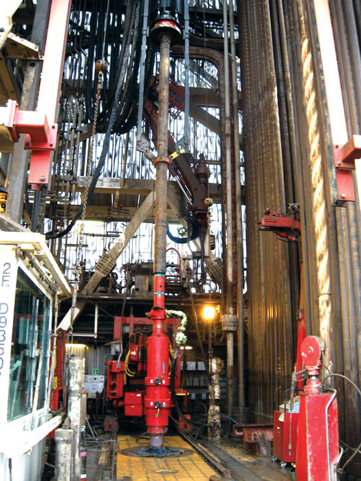 Modified Cement Head Cuts Rig Up Time Risks Drilling