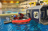 Underwater Survival Training at NASA