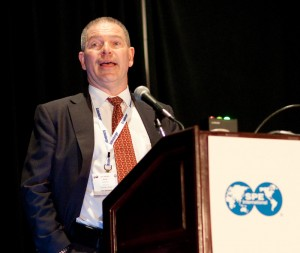 Eirik Svangtun, vice president drilling and well technology at Statoil, spoke on behalf of Øystein Arvid Håland, senior vice president drilling and well activity at Statoil, who will be chairman of the 2013 SPE/IADC Drilling Conference in Amsterdam.