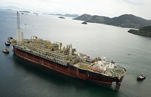 Petrobras has started production of the Sapinhoá field, located in block BM-S-9, with the Cidade de São Paulo FPSO platform in the pre-salt Santos Basin. Photo courtesy of Petrobras News Agency/Simon Townsley