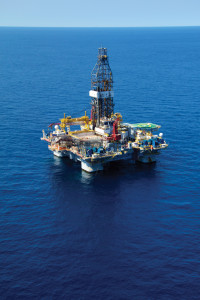 The Osprey is one of three Atwood Oceanics semisubmersibles working off Australia's North West Shelf. The rig is under contract to Chevron until 2017 in the Gorgon gas field.