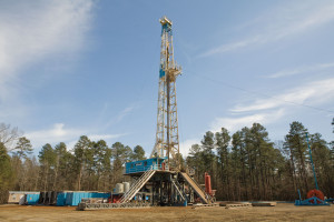 Keen Energy Services' Rig 29, which has been acquired by Latshaw Drilling, is a 1,000-hp SCR rig. Latshaw Drilling now has 41 rigs in its fleet.