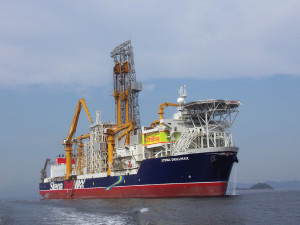 Talisman Offshore drilled its second deepwater well, offshore Sierra Leone, with the Stena DrillMax. The well came in at single-digit NPT and was a first-quartile well.