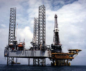 The GSF Parameswara jackup, which can drill in up to 300-ft water depths, is operating offshore Indonesia. It is one of 38 rigs Shelf Drilling acquired from Transocean in November 2012.