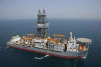 Transoceans ultra-deepwater drillship Dhirubhai Deepwater KG1 drilled a well in 3,165-meters water depth, setting a world record.