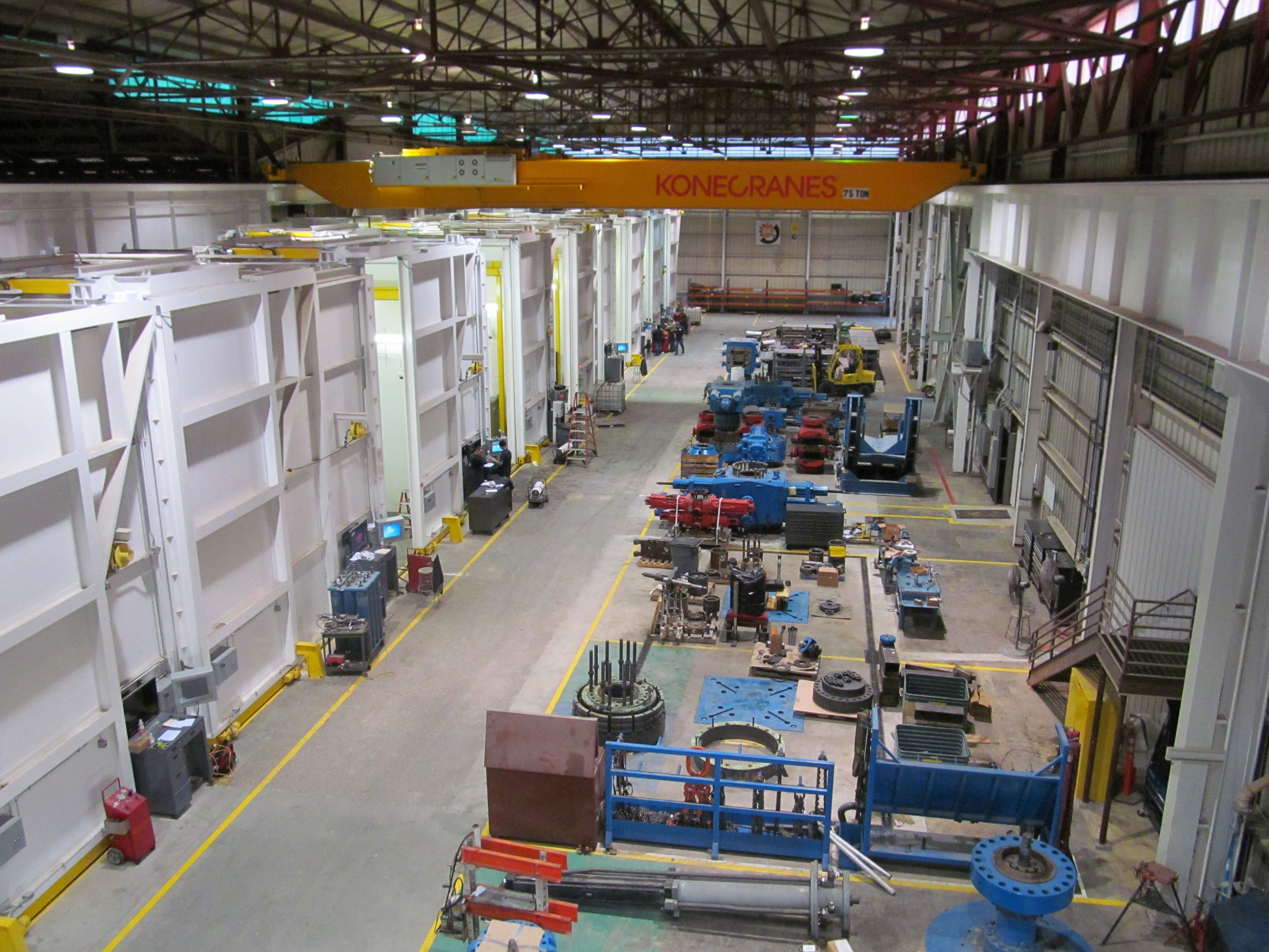 Bop Facility Designed With Manufacturing Principles For