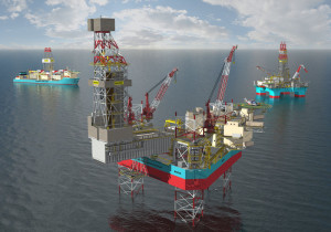 Compared with Maersk Drilling's current fleet, three XL Enhanced jackups under construction are expected to deliver a 10% reduction in the energy required.