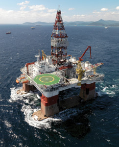 Petroserv's Victoria semisubmersible is working in the Roncador field in Brazil's Campos Basin drilling development wells under a seven-year contract with Petrobras. The rig can operate in up to 3,000 meters of water.