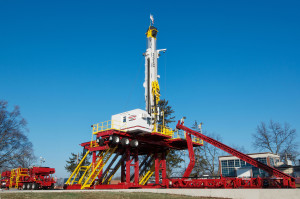 The Schramm T500XD is specifically designed for horizontal and directional drilling to a total depth of 15,000 ft or more. It is currently headed to the Marcellus and Utica shale.