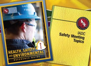 The IADC Health, Safety and Environmental Reference Guide and the IADC Safety Meeting Topics are among the associations technical publications that are being revised. IADC is also working to publish the IADC Drilling Series, a 20-book encyclopedia on the drilling industry. A team of world-class experts has been pulled together to produce the series.