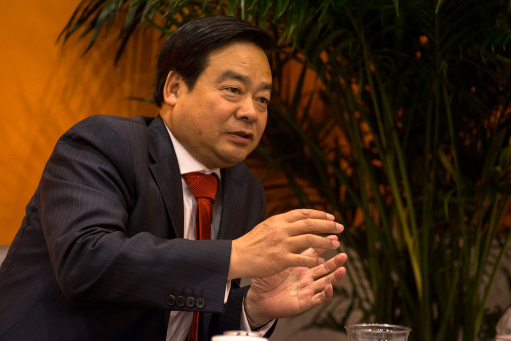 Zhang Mi, chairman and president of Honghua Group, spoke with Drilling Contractor at the 2013 OTC. He noted that while his company's current focus is on the US onshore market, he believes Honghua can eventually deploy the same technologies in China once unconventionals development expands in that country.