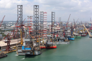 With 36 jackups and six semisubmersibles under construction at its yard in Singapore, Keppel Offshore & Marine is anticipating strong demand for newbuilds driven by sustained high oil prices, new exploration and a shortage of high-spec rigs.