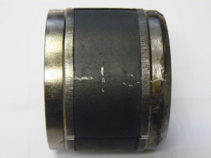 Figure 8 : After the validation test to determine if the packer could hold pressure at 20,000 psi at 470°F, the packer seal system showed no visual element extrusion.