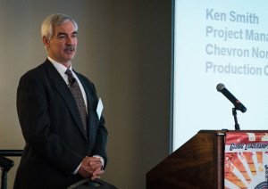 Increasing pore pressures and fracture gradients in target reservoirs in the Gulf of Mexico have motivated Chevron to use a seabed pumping dual-gradient drilling method, Ken Smith, Chevron, said at the 2013 IADC DGD Workshop on 9 May in Houston.
